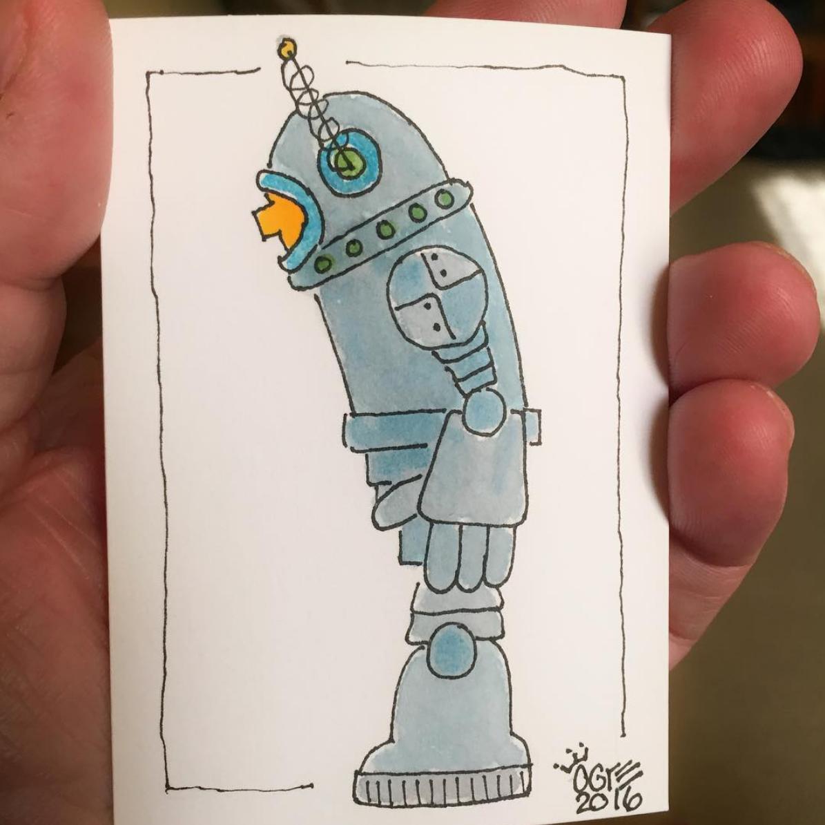 Dejected Bot
